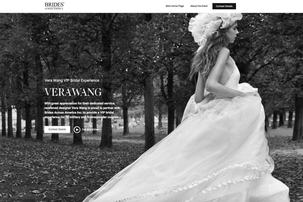 The Brides Across America website.