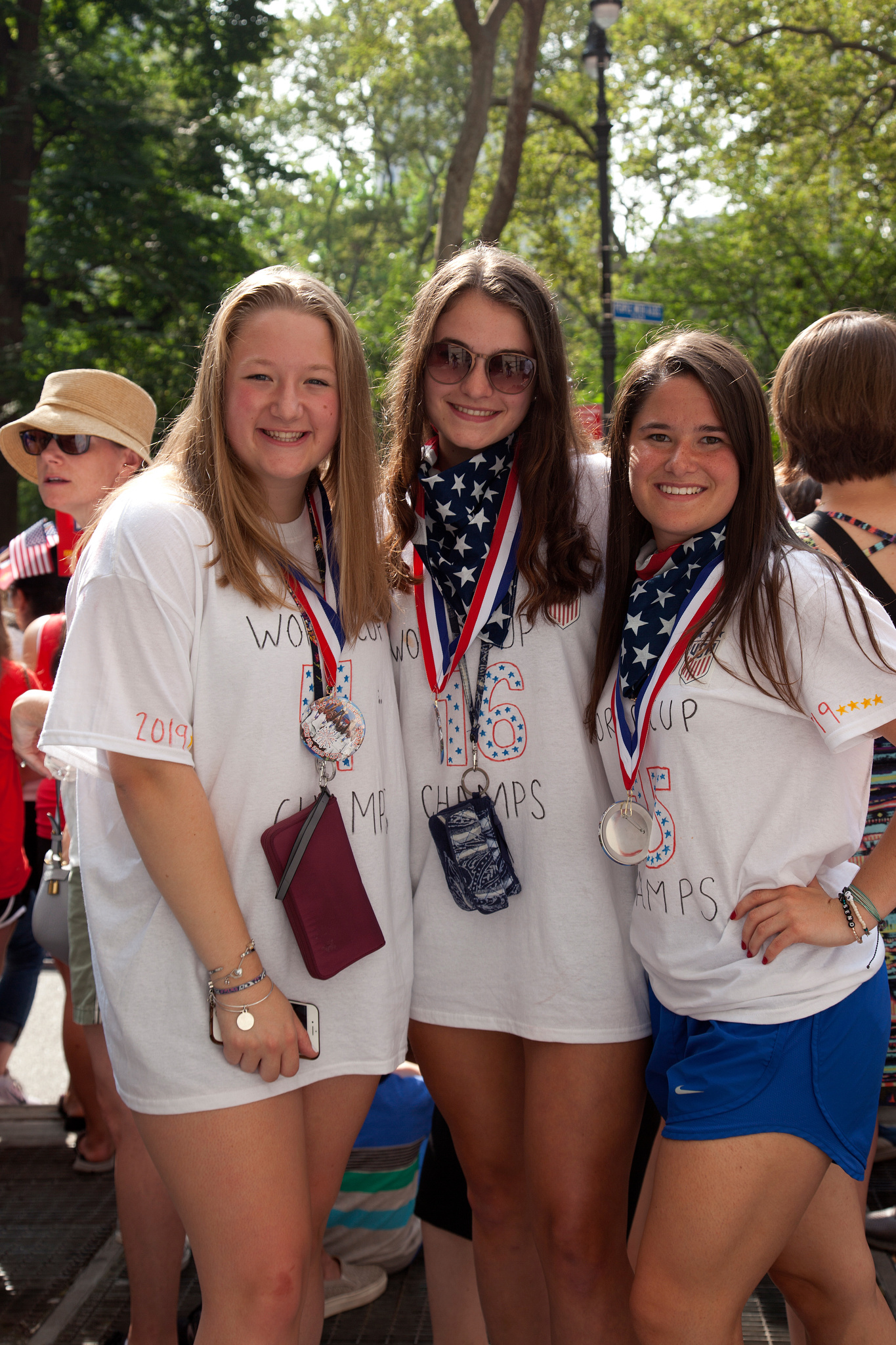 Krista Hudzikiewizz, Madelyn Seder, and Alicia Bibi
