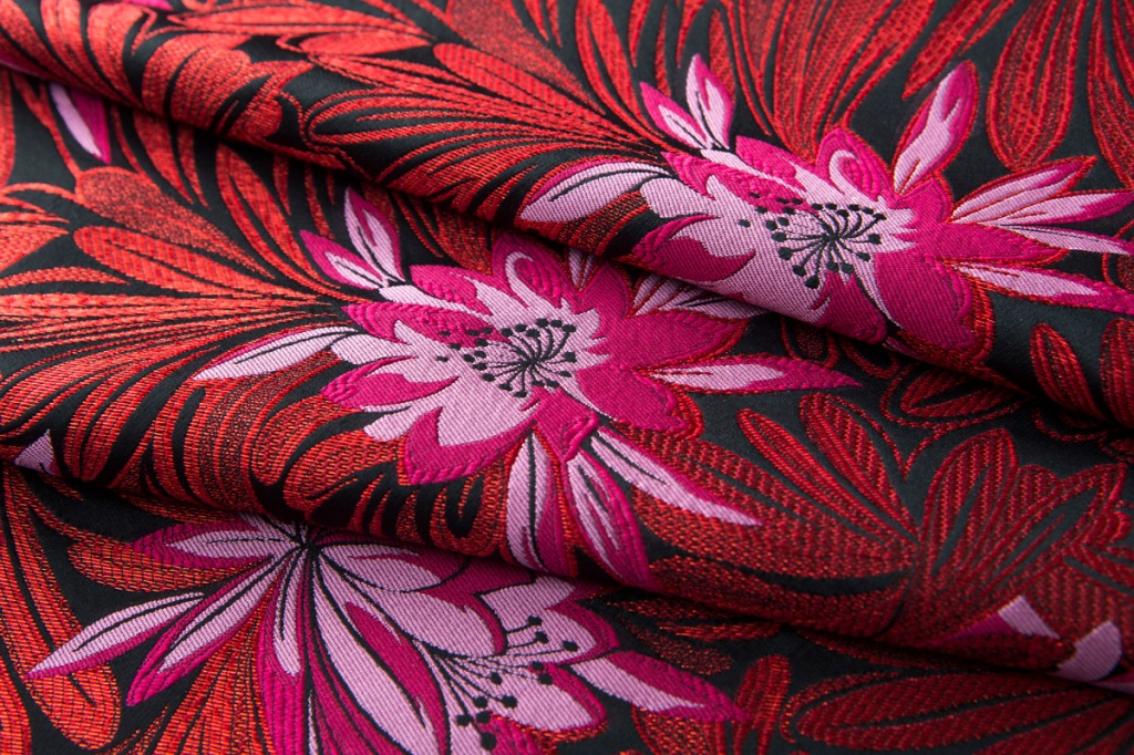 A jacquard fabric from Canepa's fall 2020 collection.
