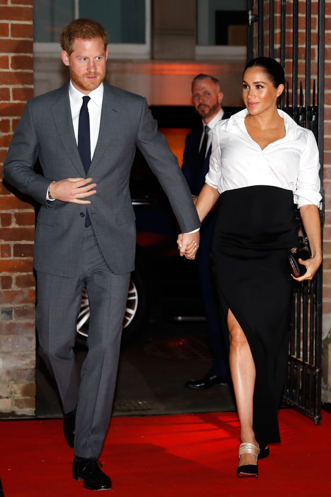 Prince Harry and Meghan Duchess of Sussex arrive to attend the annual Endeavour Fund Awards at Draper's Hall.Endeavour Fund Awards, London, UK - 07 Feb 2019