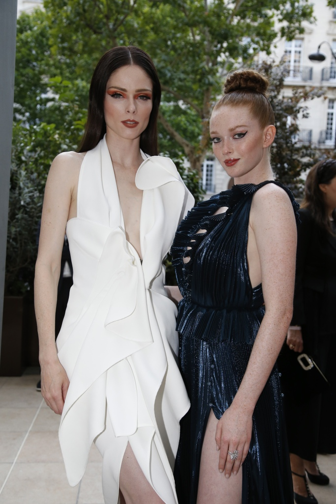Coco Rocha and Larsen Thompson