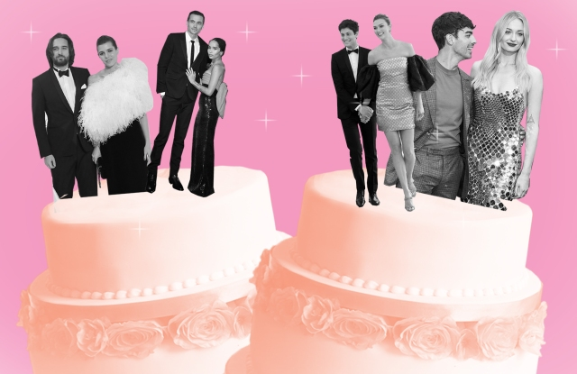 Joe Jonas, Zoe Kravitz and Karl Glusman, Charlotte Casiraghi and Dimitri Rassam, and Karlie Kloss and Josh Kushner