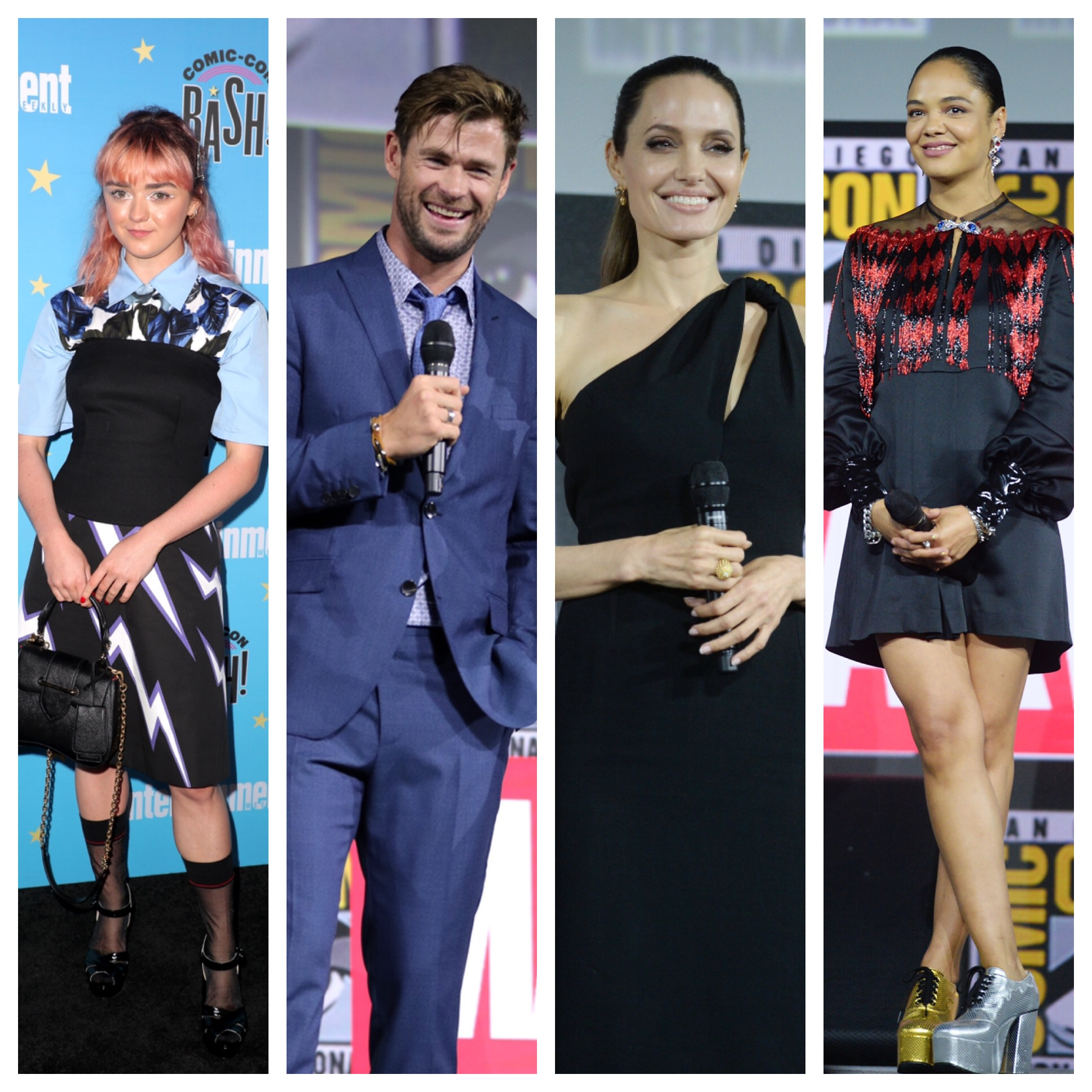 Comic-Con 2019: Chris Hemsworth, Angelina Jolie, Tessa Thompson and more celebrities