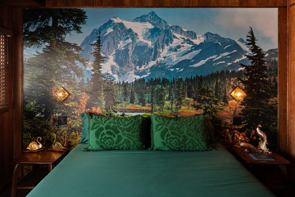 """The """"Scenic Room"""" at The Dive Motel & Swim Club."""