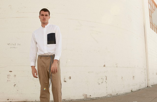 A look from Dockers x Atelier & Repairs.