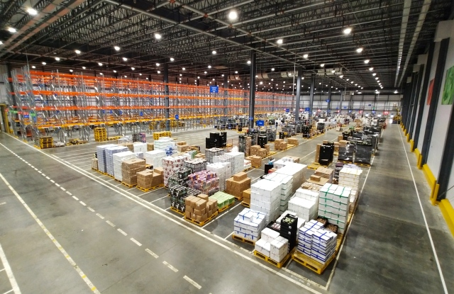 Walmart's new distribution center in the Southern region of China.