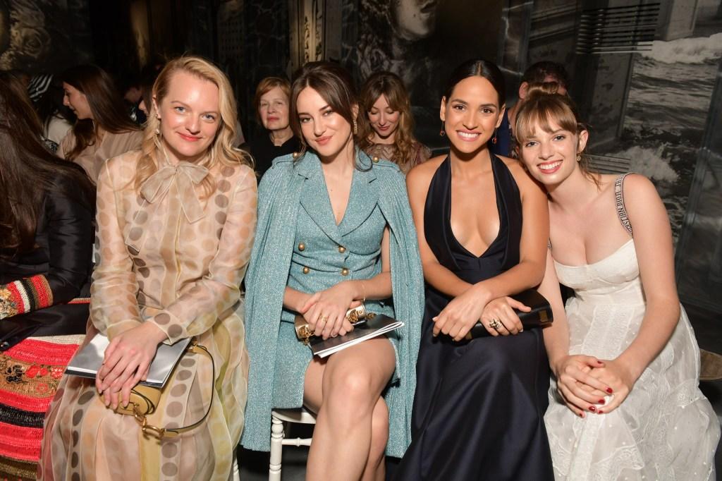 Elisabeth Moss, Shailene Woodley, Adria Arjona and Maya Hawke