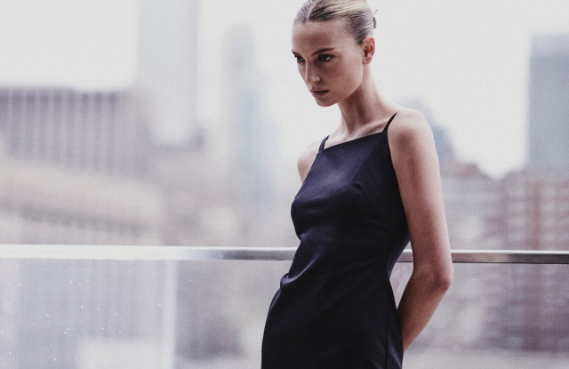 An Equinox Hotel uniform designed by Kate Young.