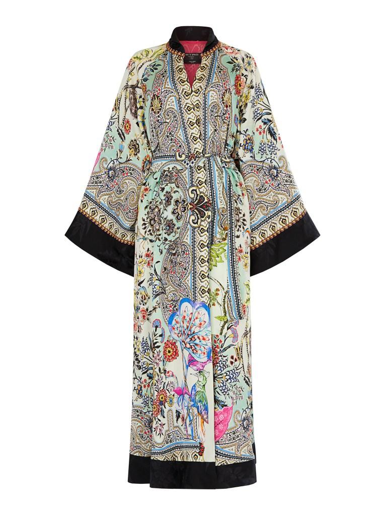 Etro x Luisa World silk kimono