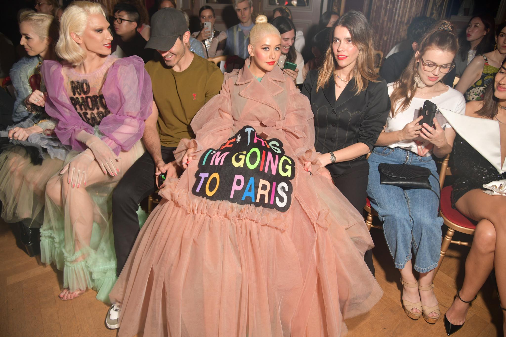 Miss Fame and Christina Aguilera