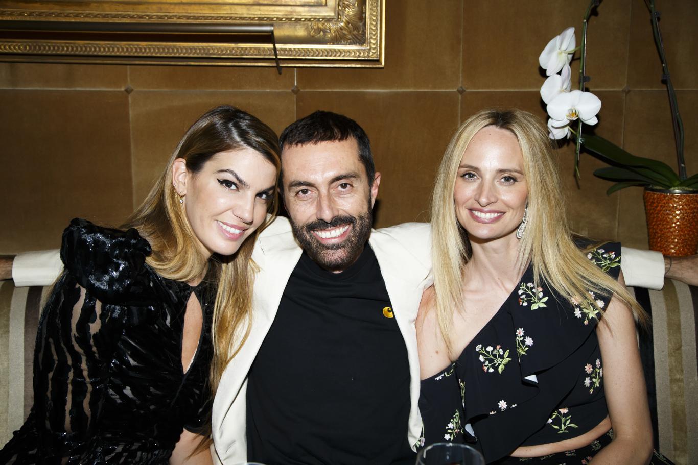 Bianca Brandolini D'Adda, Giambattista Valli and Lauren Santo Domingo