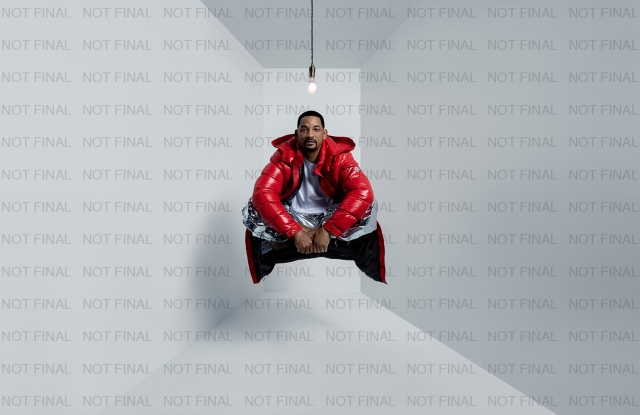 Will Smith stars in Moncler's Genius is Born Crazy campaign.