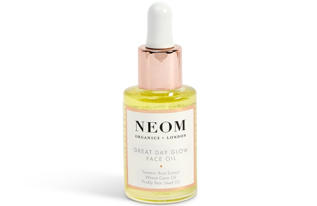 Neom's face oil, part of a new skincare product range.