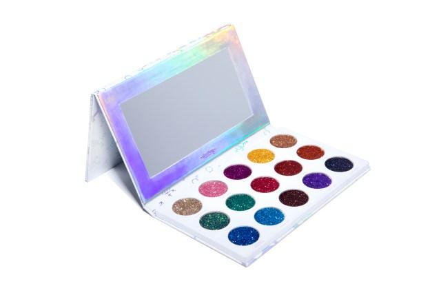 HipDot's Legendary Pressed Glitter Palette.