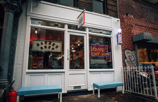 Johnny's Chop Shop at 154 Grand Street in Brooklyn.