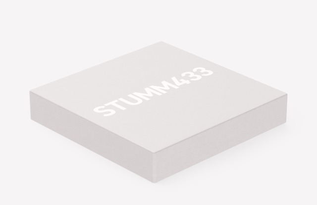 The Stumm433 vinyl box set from Mute, the latest installment of the Mute 4.0 (1978 > Tomorrow) series.