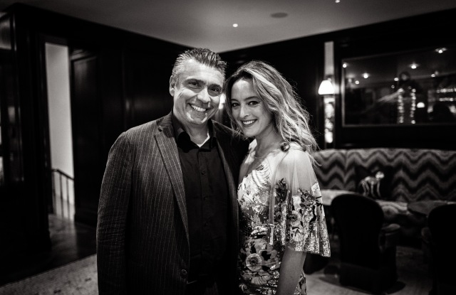 Luca Donnini and Alice Temperley