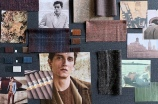 The moodboard for Lanificio F.lli Cerruti fall 2020 collection.