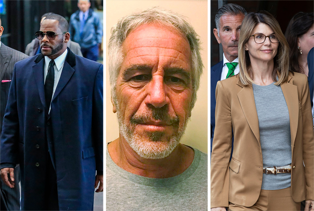 Lifetime Is Making Documentaries on R. Kelly, Jeffrey Epstein and the College Admissions Scandal