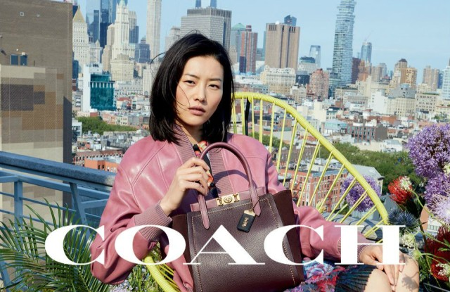 Coach launched on Thursday its fall 2019 campaign featuring Liu Wen