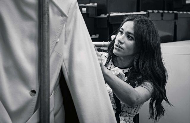 Meghan Markle British Vogue Fashion Collaboration Misha Nonoo
