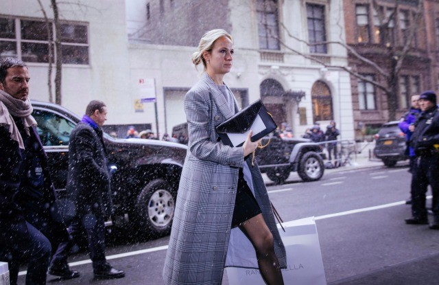Fashion designer Misha Nonoo arrives for the baby shower at The Mark HotelMeghan Duchess of Sussex Baby Shower, New York, USA - 20 Feb 2019