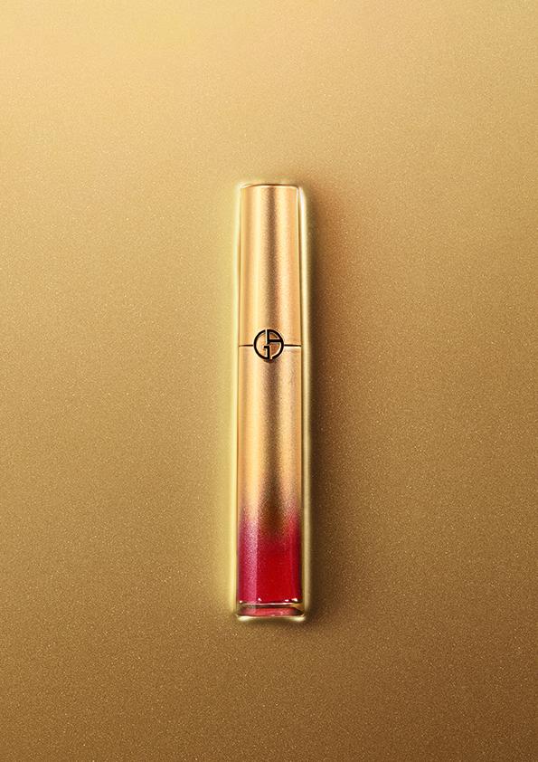 Armani Beauty's limited edition Lip Maestro #400G lipstick.