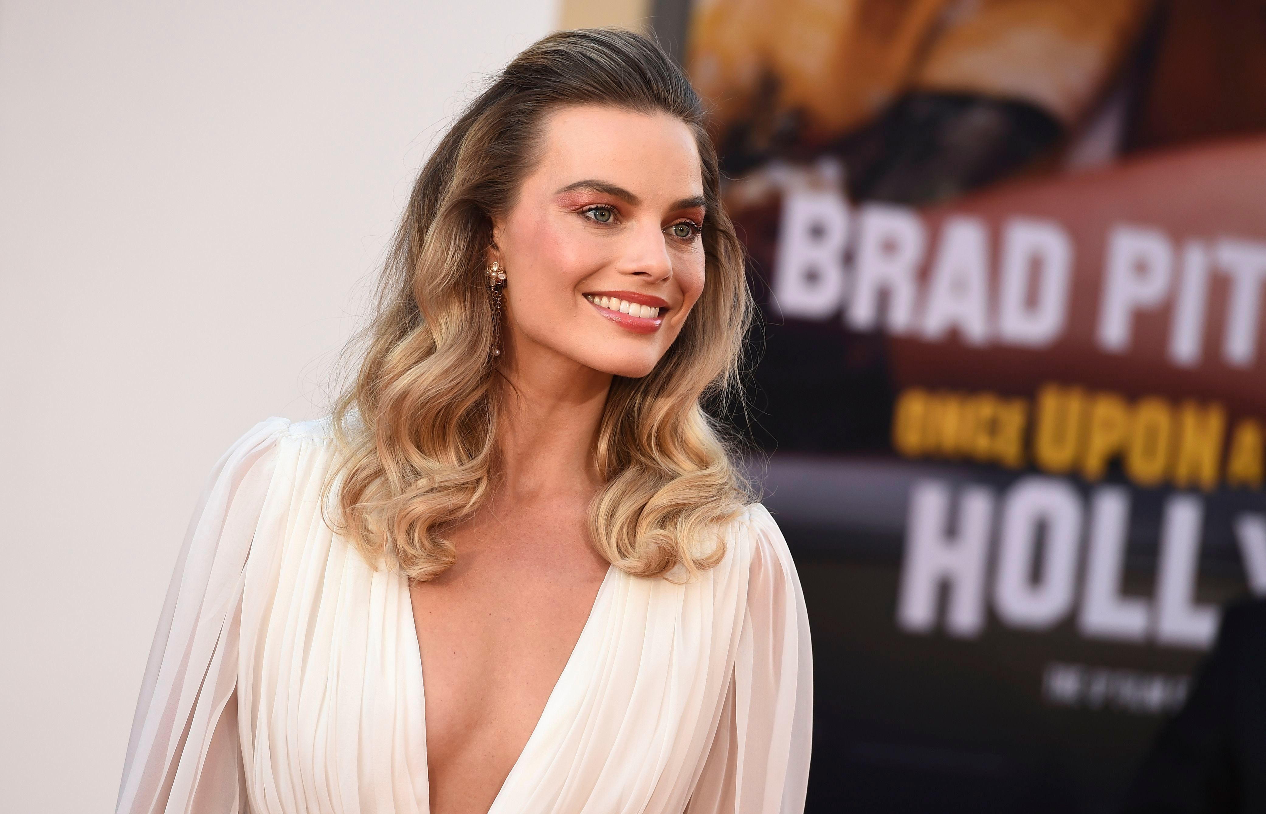 "Margot Robbie arrives at the Los Angeles premiere of ""Once Upon a Time in Hollywood,"" at the TCL Chinese TheatreLA Premiere of ""Once Upon a Time in Hollywood"", Los Angeles, USA - 22 Jul 2019"
