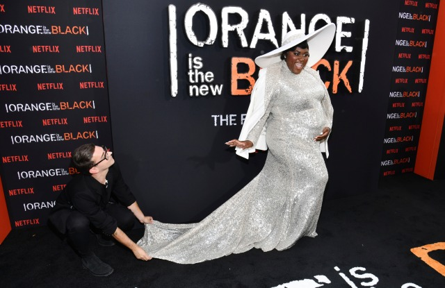 """Danielle Brooks attends the final season premiere of Netflix's """"Orange Is the New Black"""" at Alice Tully Hall, in New YorkNY Netflix's """"Orange Is the New Black"""" Final Season Premiere, New York, USA - 25 Jul 2019"""