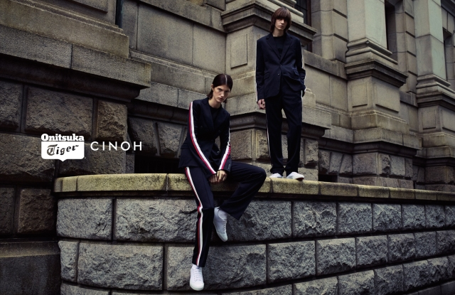 Onitsuka Tiger x Cinoh, the one of seven collaborations celebrating Tiger's 70th anniversary.
