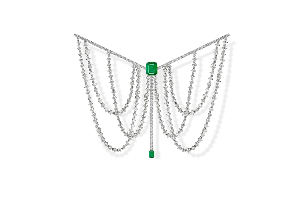 Emerald brooch from Dauphin