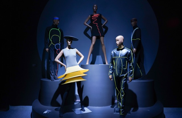 """""""Pierre Cardin: Future Fashion"""" will run at the Brooklyn Museum from July 20th through January 5th."""