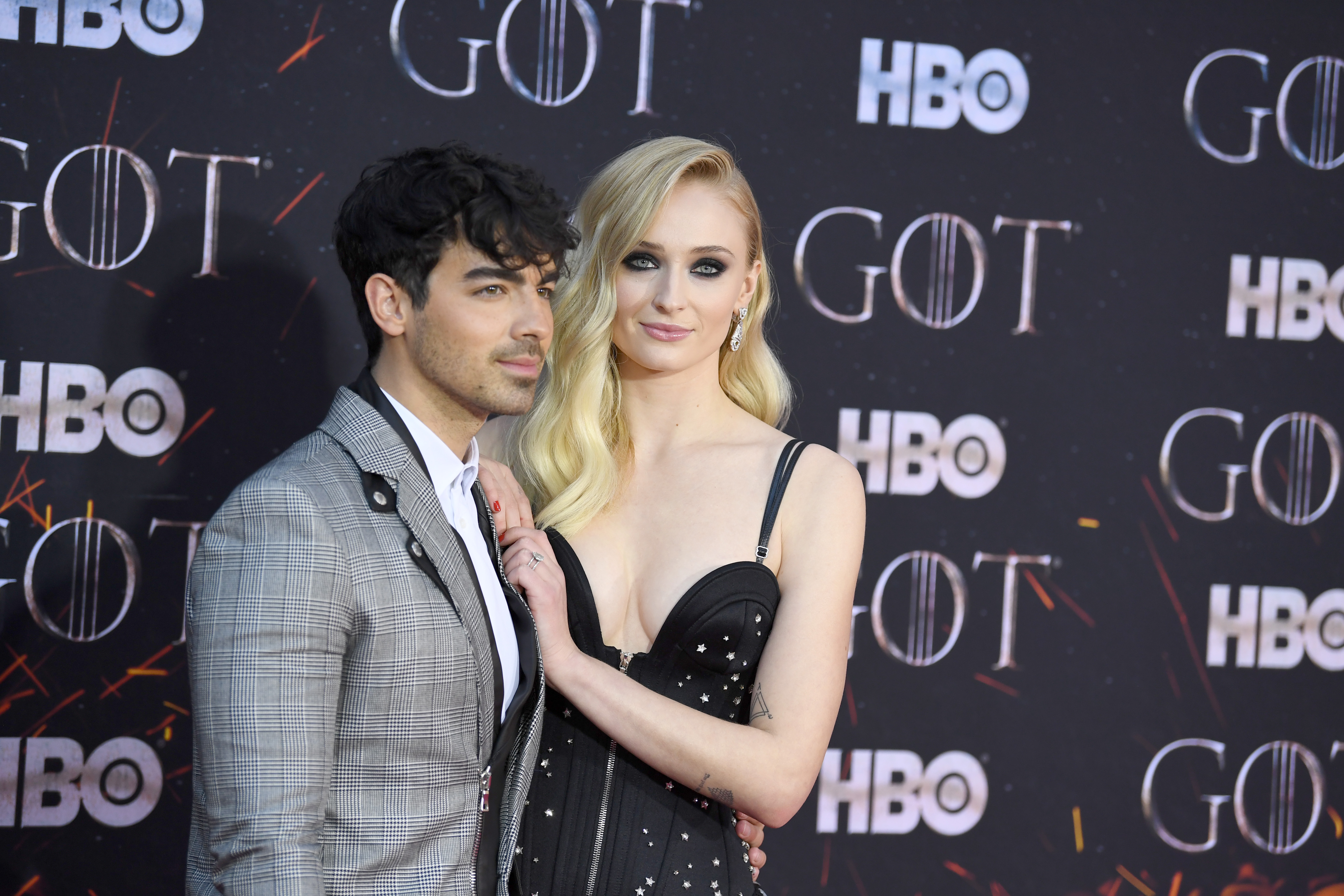 Joe Jonas and Sophie Turner'Game of Thrones' season eight premiere, Arrivals, New York, USA - 03 Apr 2019