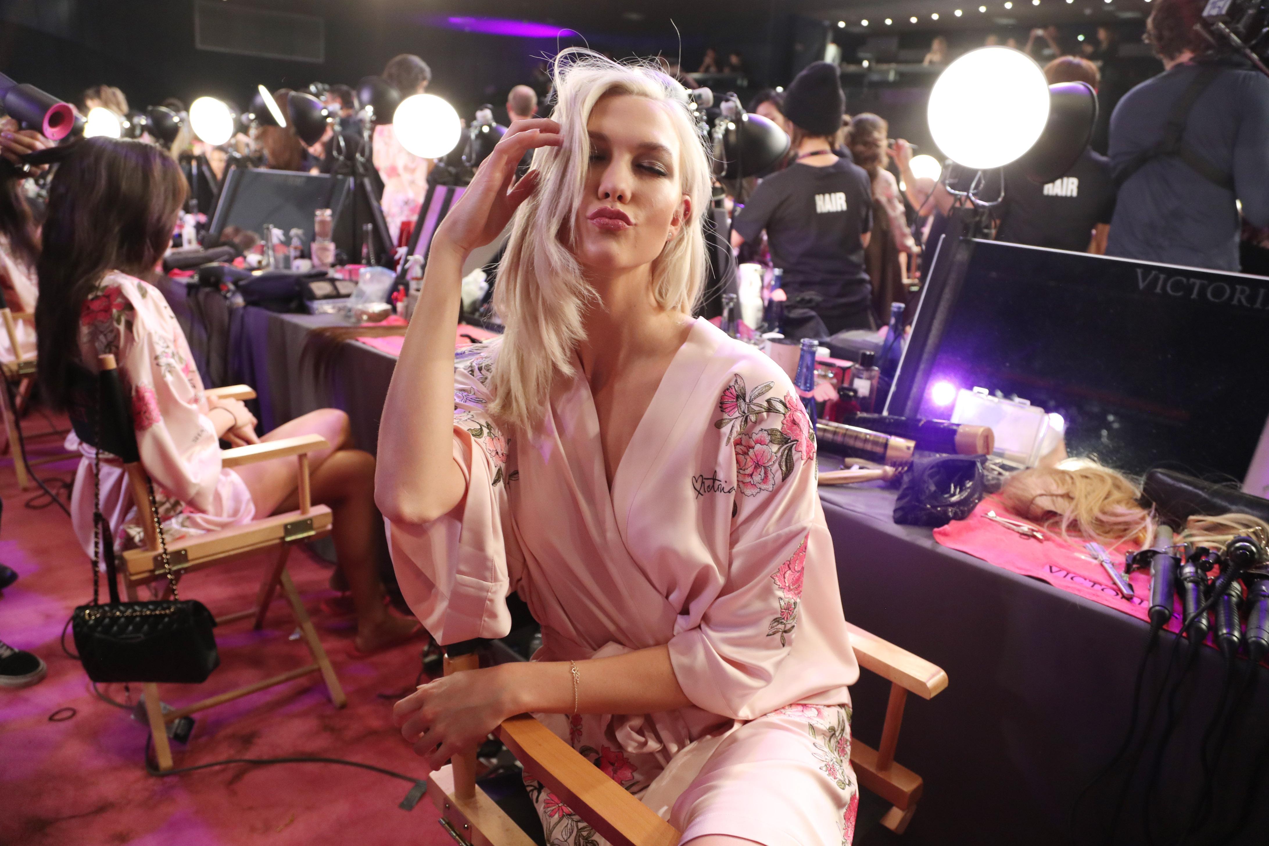 Karlie KlossVictoria's Secret Fashion Show, Backstage, Shanghai, China - 20 Nov 2017