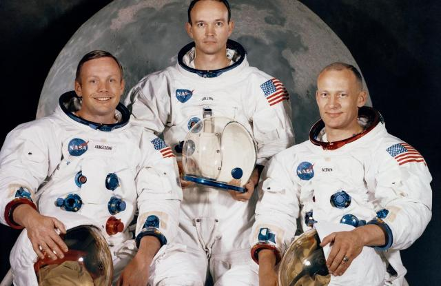 The Apollo 11's mission required the workmanship of several companies.