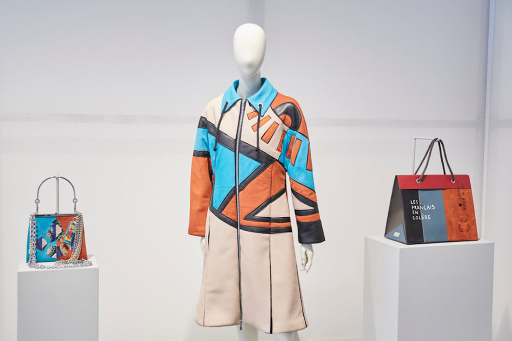 """The """"Young Talents for Sustainable Thinking by Salvatore Ferragamo"""" project at Pitti Filati."""
