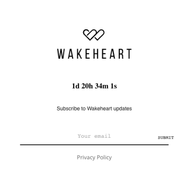 A countdown to the launch of Wakeheart's first influencer fragrance collaboration.