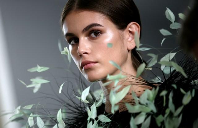 Kaia Gerber backstageGivenchy show, Backstage, Fall Winter 2019, Haute Couture Fashion Week, Paris, France - 02 Jul 2019