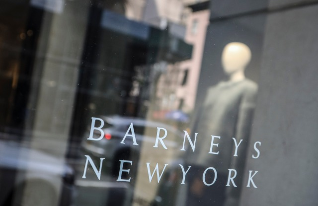 Signage for Barneys