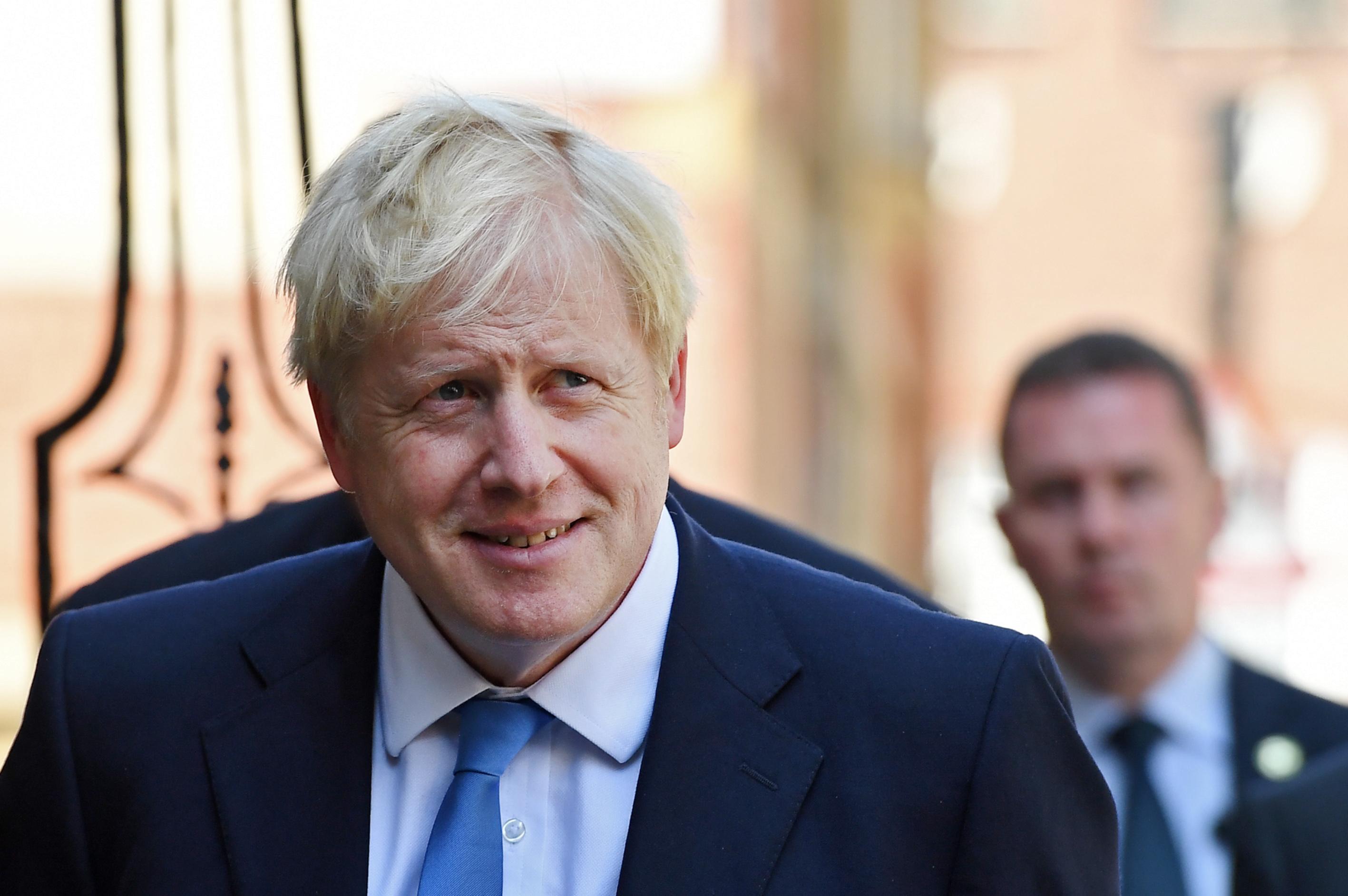 Boris Johnson announced leader of Britain's Conservative Party