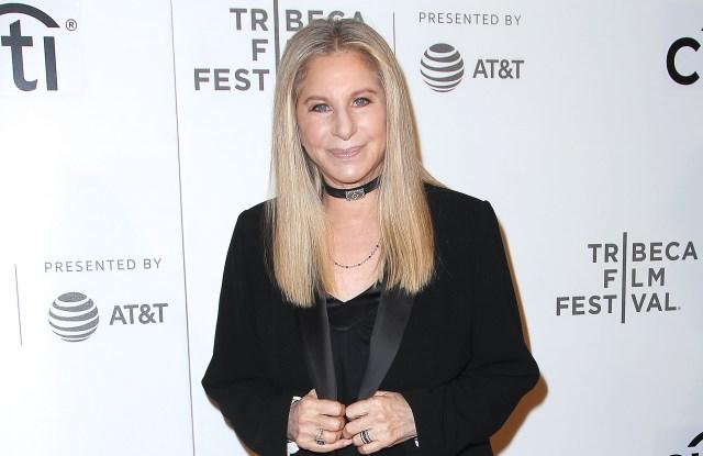 Barbra StreisandTribeca Talks Storytellers - Barbra Streisand with Robert Rodriguez, Tribeca Film Festival, New York, USA - 29 Apr 2017