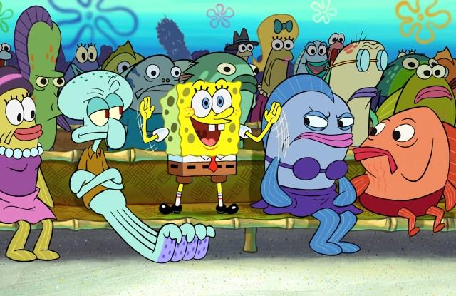 Spongebob SquarePants Nike Sneaker Collection