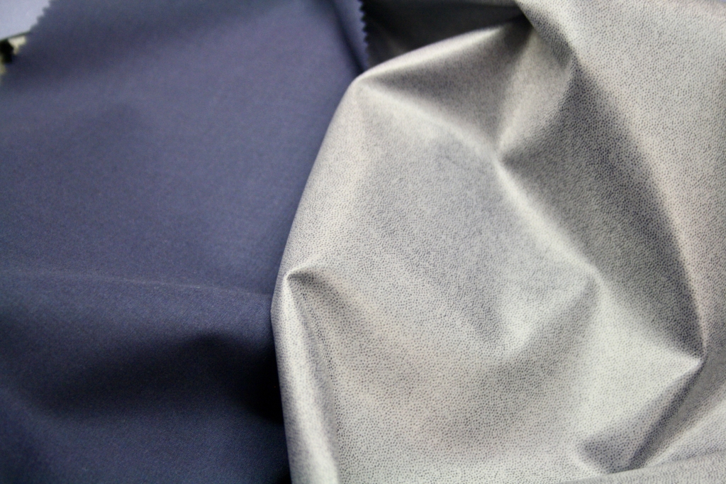 A natural stetch fabric from Trabaldo Togna's Estrato collection for fall 2020.