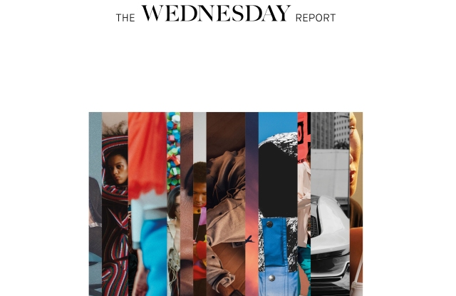 The cover of The Wednesday Report, by the eponymous creative agency.