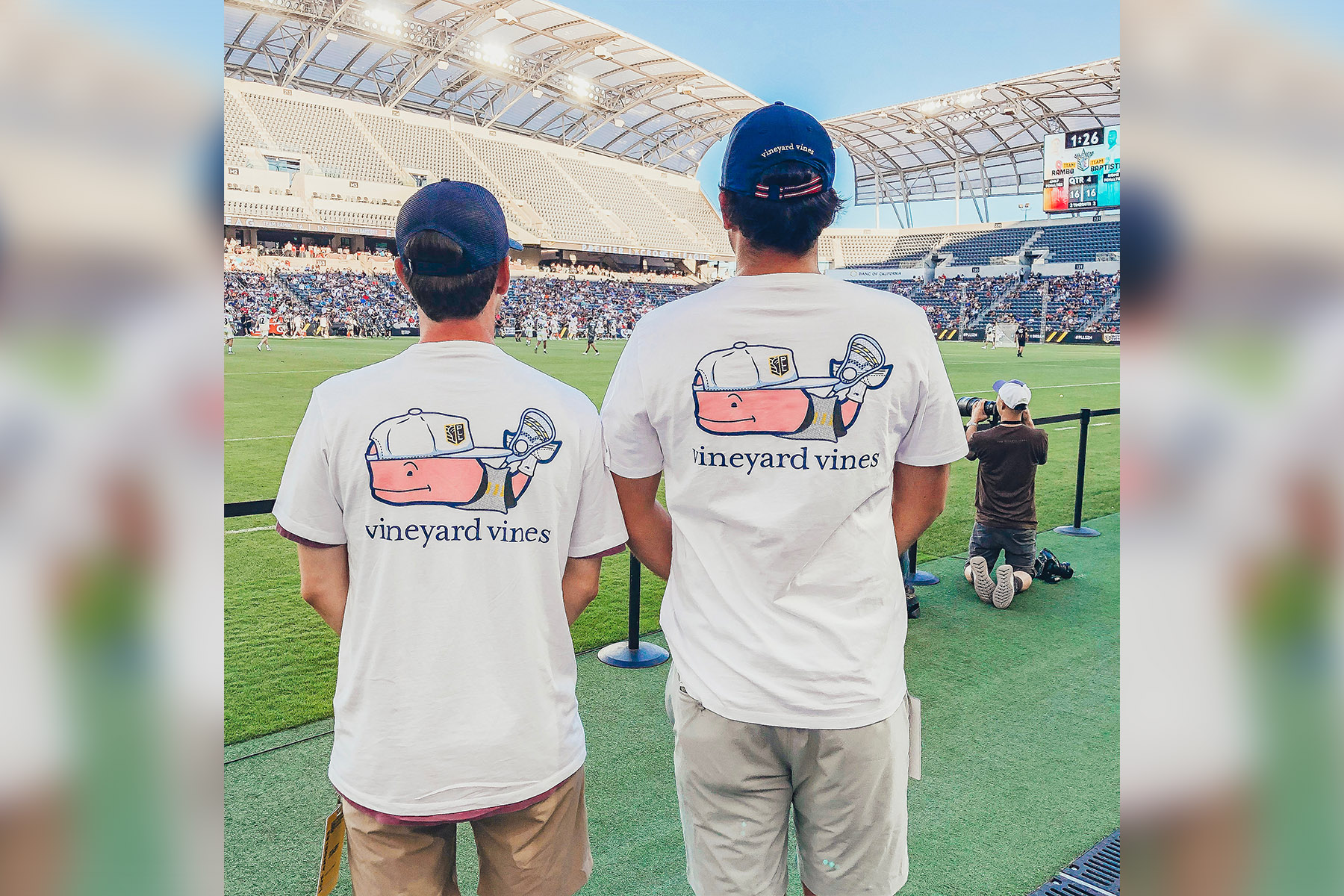 Vineyard Vines' and Premier Lacrosse League sign a deal.