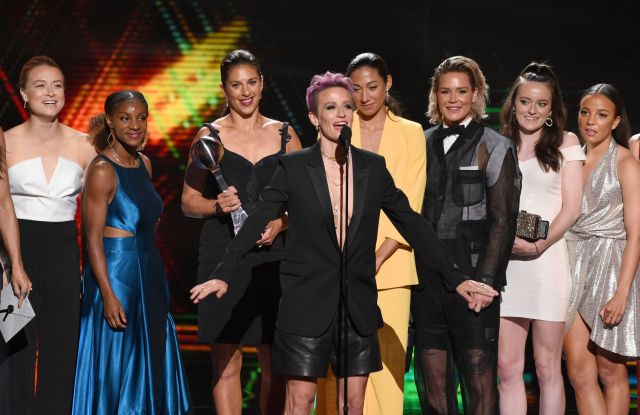 USA Women's Soccer Team Win at ESPY Awards