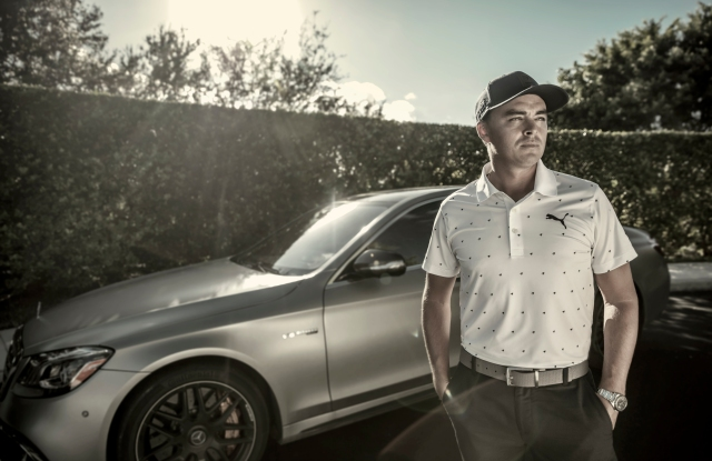 Rickie Fowler in looks from the new  X Collection from Puma.