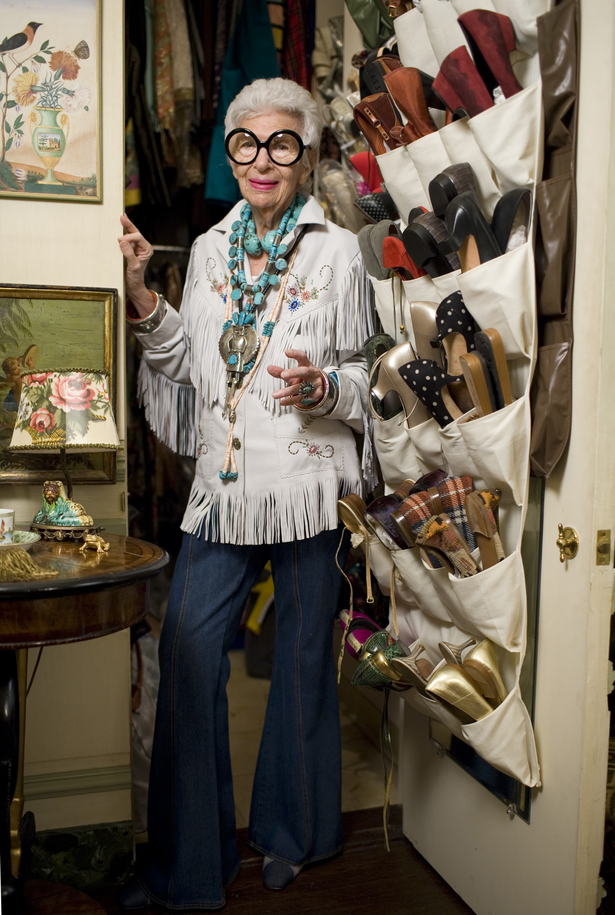 Iris Apfel, 2009Photo © Peabody Essex Museum