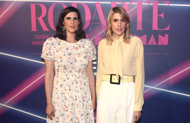 Laura Mulleavy and Kate MulleavyMADE x Rodarte Limited Capsule Launch Press Preview show, Arrivals, Milk Studios, Los Angeles, USA - 01 Aug 2019
