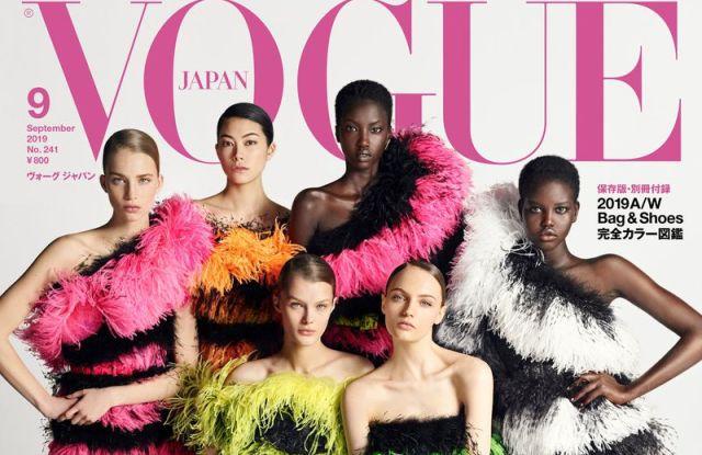 Vogue Japan's September issue lensed by Luigi&Iango.
